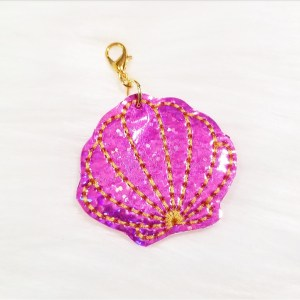 Pink Seashell Planner Charm