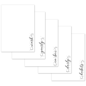 A4 Minimalist Planner Dividers