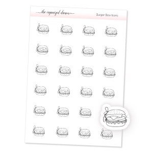 Burger Bow Icons