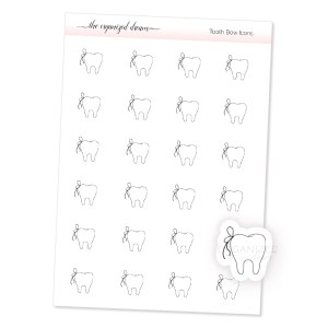 Tooth Bow Icons