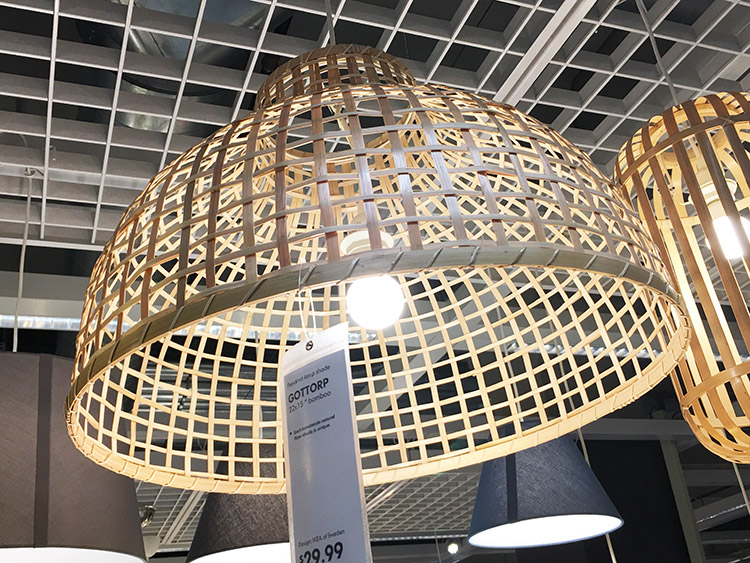 coastal decor you can find at Ikea