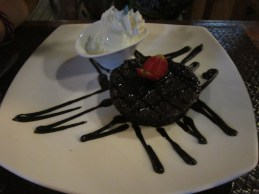 Chocolate moelleux @ Sanur