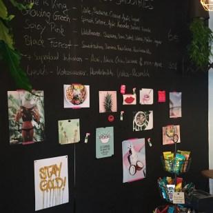 Der Münchner Detox Delight Pop-Up Store am Münchner Odeonsplatz