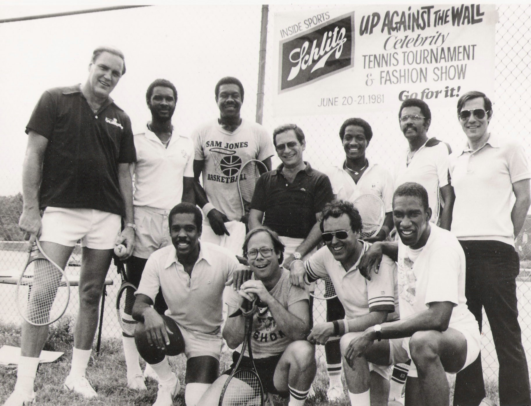 CELEBRITY TENNIS 1981 JVANCE