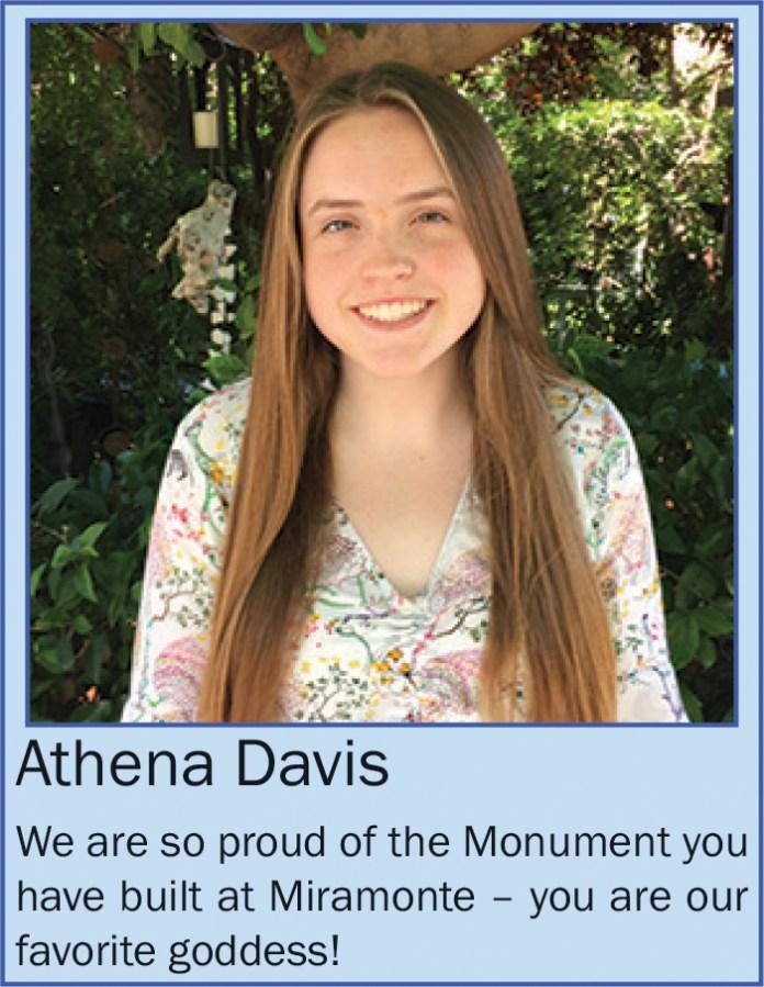 Athena Davis June 2020