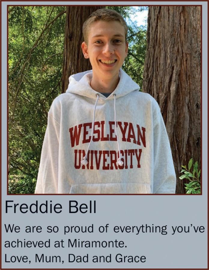Freddie Bell June 2020