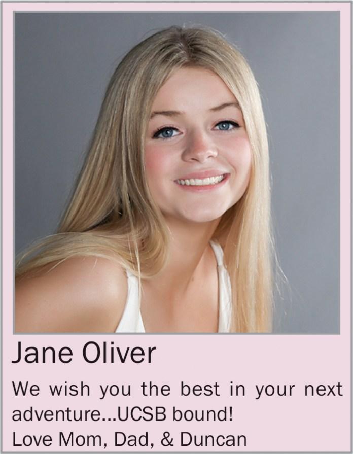 Jane Oliver June 2020