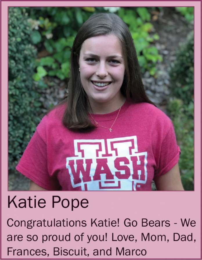 Katie Pope May 2020