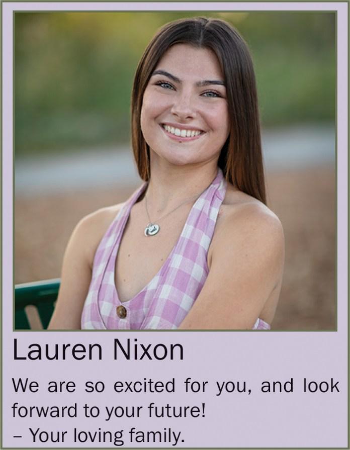 Lauren Nixon June 2020