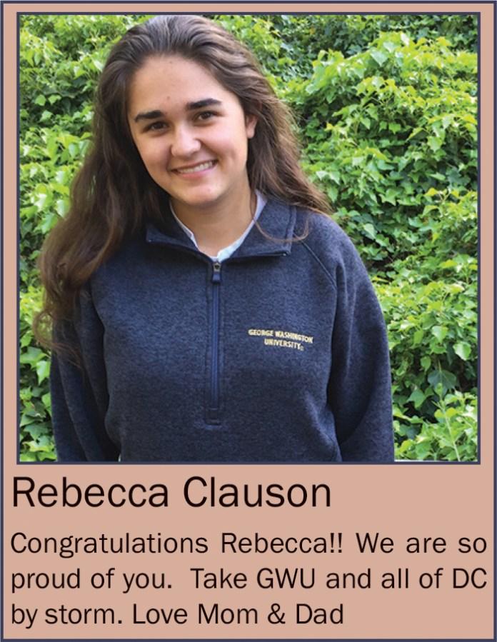 Rebecca Clauson June 2020