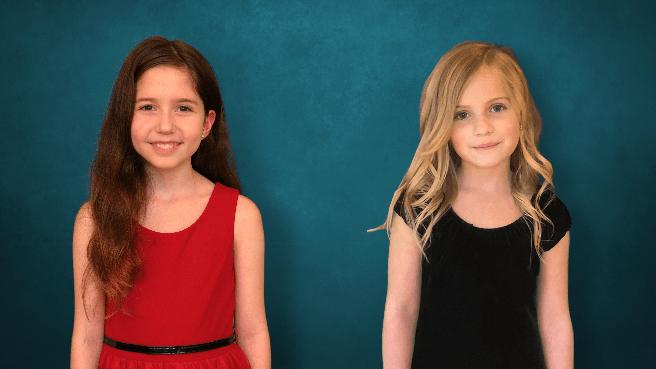 (Contributed Photo)Cara Impallomeni and Miranda Klein, K-5th Grade Group Category Power of Two