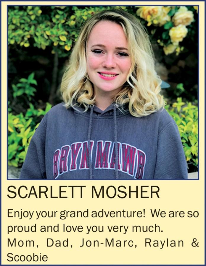 Scarlet Mosher June 2021