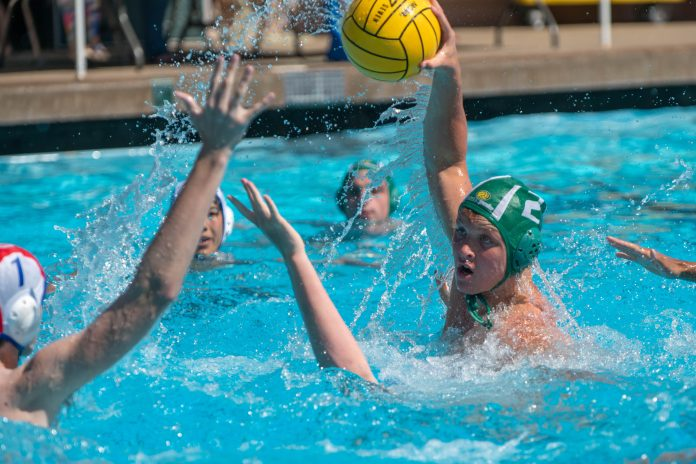 (Dan Ting, Photographer)Seniors on Miramonte Water Polo Team uphold Tradition of Excellence.