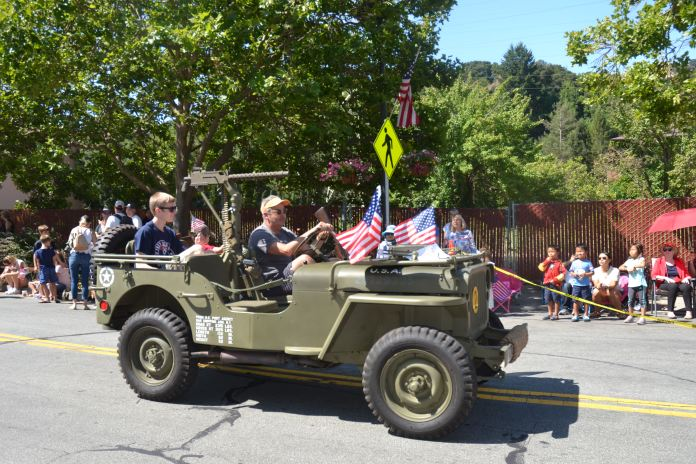 (Sally Hogarty, Photographer)Lots of cars, classic, military and more will follow the parade route