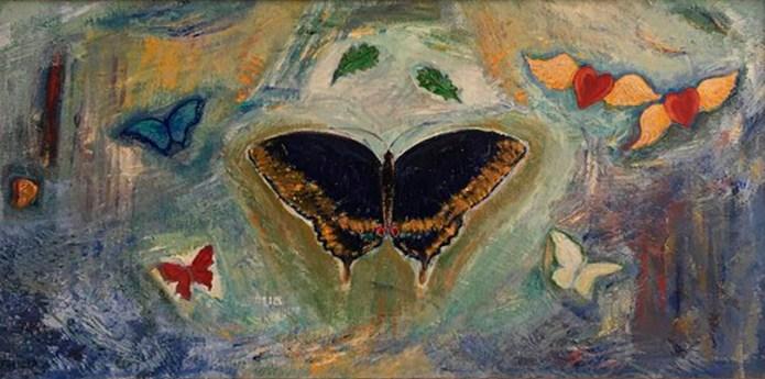 "Felicia Morris, ""Butterflies"""