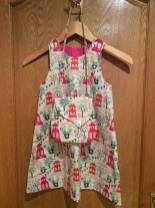 dress with bag