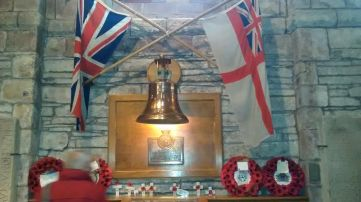 The Bell of the Royal Oak, St Magnus Cathedral, Kirkwall (photo F Grahame)