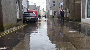Victoria Street Kirkwall Flooding)