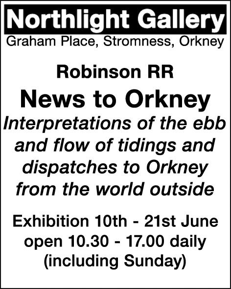 Ralph Robinson advert
