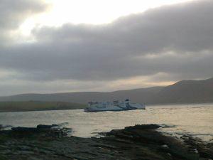 ferry in Nov
