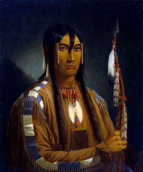 Cree_pipe_stem_carrier-Cree_warrior