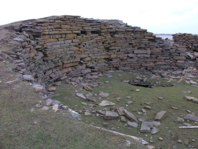 North Ronaldsay Broch of Burrian