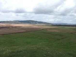view from Dunadd over the Moine Mhor bog (B Bell)