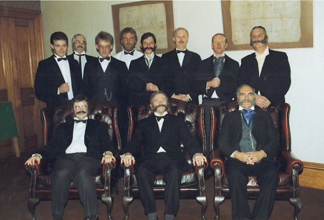 The Orkney Club members in period costume