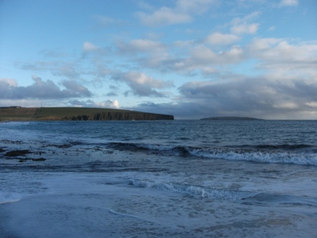 Copinsay view towards - M Bell