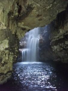 inside Smoo cave, B Bell