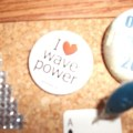 wave power badge