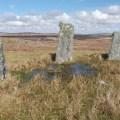 standing stones on Lewis 3 women B Bell