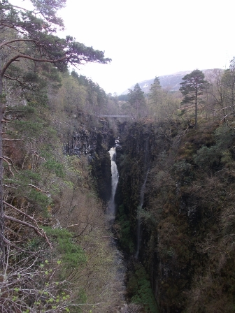 Corrieshallock Gorge and Falls  B Bell