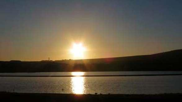 sunset over Peedie Sea K Armet 903