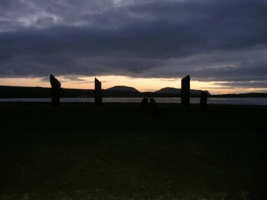 Hoy through Stenness Stones B Bell