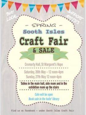 Craft Fair sooth Isles