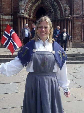 Ragnhild Ljosland of Norway and Orkney