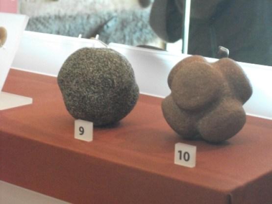 stone balls in Lews Castle Museum