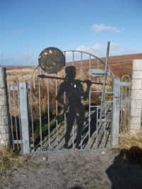 curvaceous lady gate Lewis B Bell