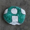 Scrabster painted stone B Bell