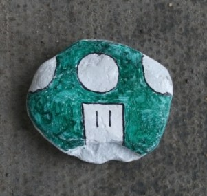 Scrabster painted stone Credit: B Bell