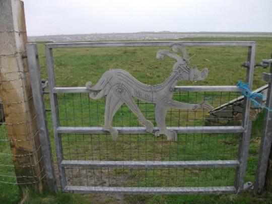 goat gate Western Isles B Bell