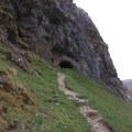 path to Bone Caves Assynt B Bell