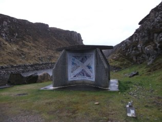 Saltire Bus Shelter Uig Western Isles M Bell