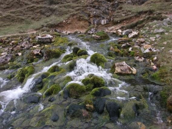 wide falls Bone Caves Assynt B Bell
