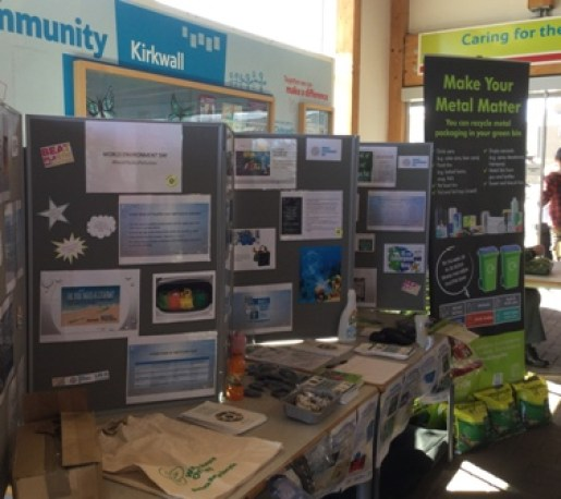 World Environment Day 2018 stall