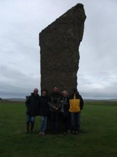 Standing stones of Stenness Bernies pals