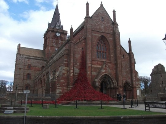 poppies St Magnus Cathedral B Bell