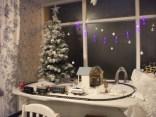 Christmas spotting Stromness cafe B Bell