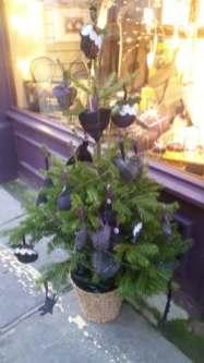 Christmas spotting tree tartan